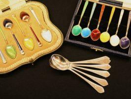 Silver Demitasse Spoons